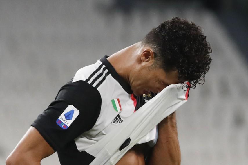 Ronaldonun koronavirus testi yenə müsbət çıxdı