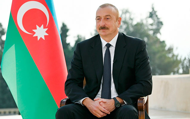 """Prezident: """"Biz cavab verməyə məcbur idik"""" - MÜSAHİBƏ"""