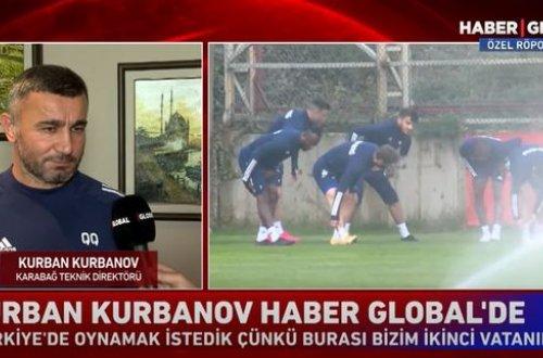 """Haber Global"" Qurban Qurbanovu İstanbulda tapdı - VİDEO"