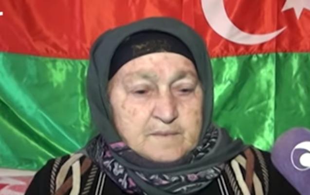 Altı nəvəsini Qarabağda döyüşə göndərən nənə - VİDEO