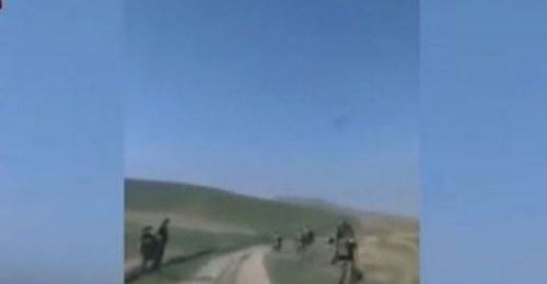 Döyüş zamanı erməni tərəfdən çəkilən ŞOK VİDEO!