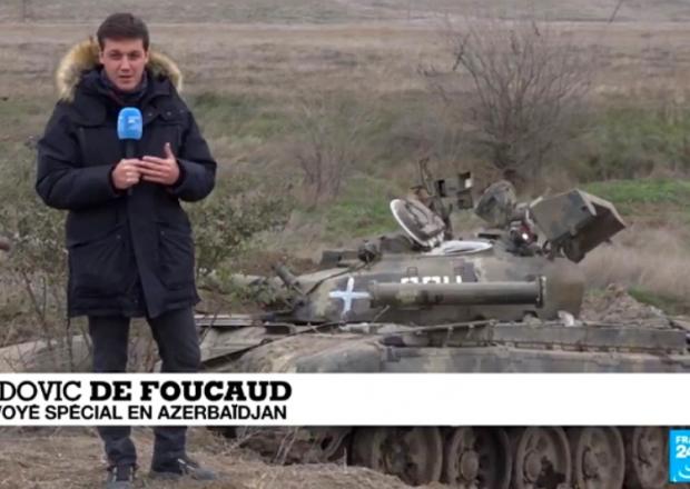 """""""France-24"""" Füzulidən VİDEOREPORTAJ hazırladı"""