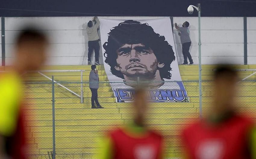 Maradona ilə bağlı AFFA-ya müraciət - 1 dəqiqəlik sükut edin