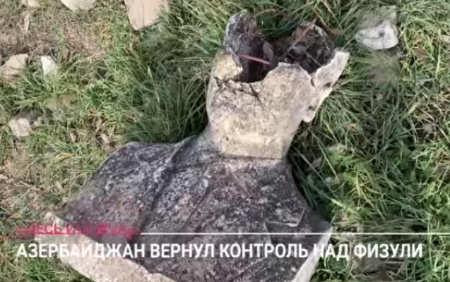 """""""Ermənilər burada ölülərlə döyüşürdü"""": """"Dojd"""" Füzulidən VİDEOREPORTAJ HAZIRLADI"""