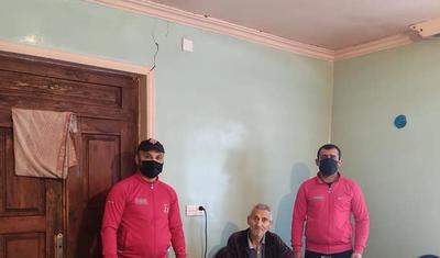 Bölgə klubu şəhid ailələrinə köməklik göstərir -