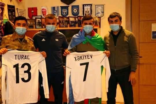 """Qarabağda ermənilərlə vuruşdular, """"Qarabağ"""" da arzularını yerinə yetirdi – VİDEO+FOTO"""