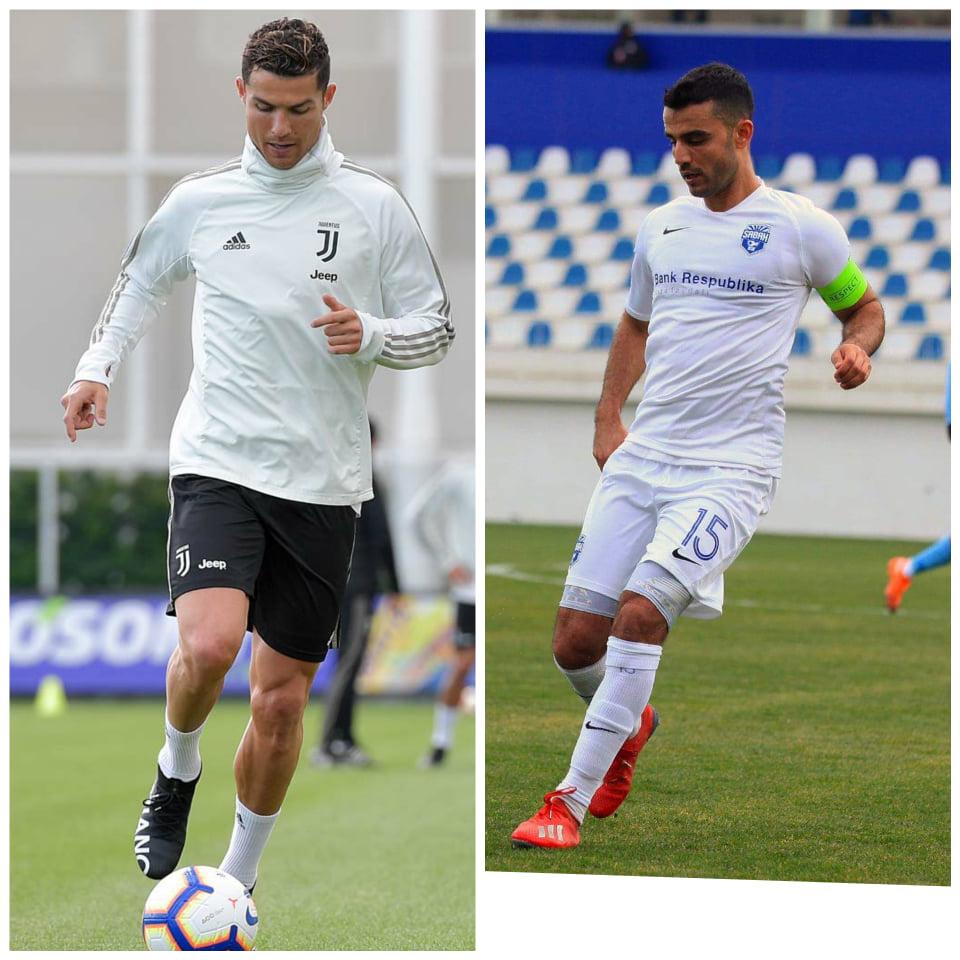 Hansı azərbaycanlı futbolçunu Ronaldoya oxşadırlar?