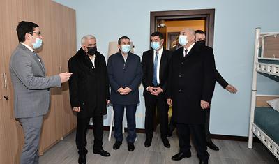 Rövnəq Abdullayev bölgə klubu üçün açılış etdi -