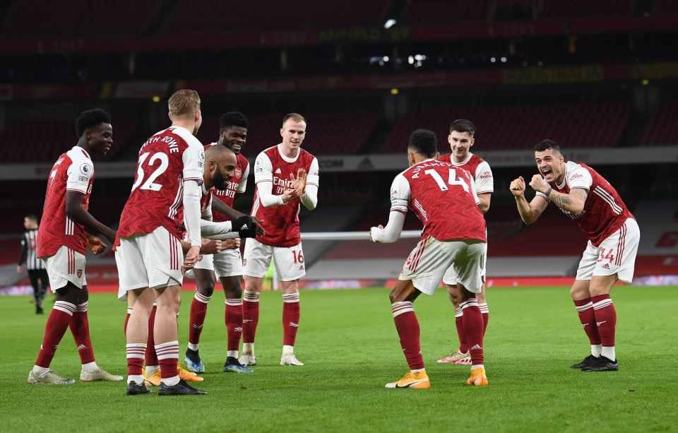 """""""Arsenal"""" Londonda 3 xalı 3 qolla qazandı - VİDEO"""
