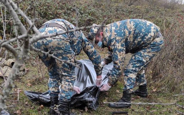 Qarabağın 2 rayonunda daha 7 erməni hərbçinin meyiti tapıldı