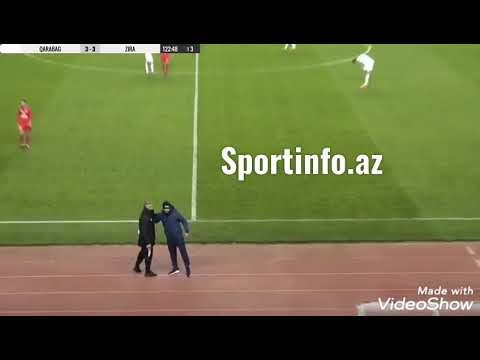Qurban Qurbanov şəhid futbolçunun qardaşına ürək-dirək verdi - EKSKLÜZİV VİDEO