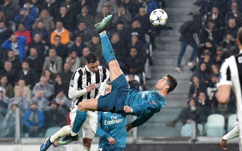 """Ronaldo ilə zarafat etdi: """"Mənə bu iki qolu vurmaya da bilərdin"""""""