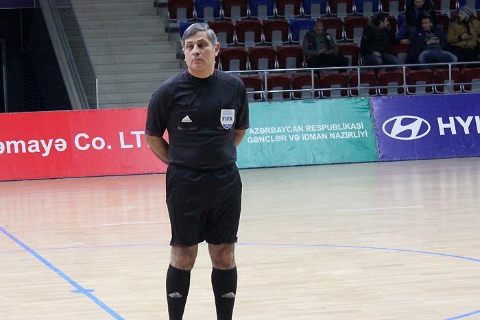 Azərbaycanlı Ermənistan millisinin oyununa təyinat aldı