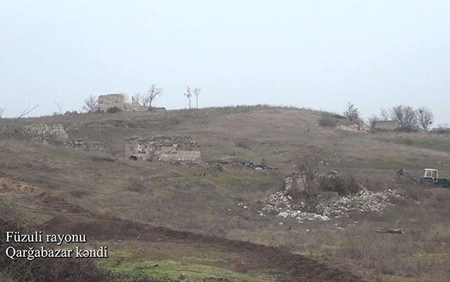 Bu da məşhur Qarğabazar kəndi - VİDEOREPORTAJ