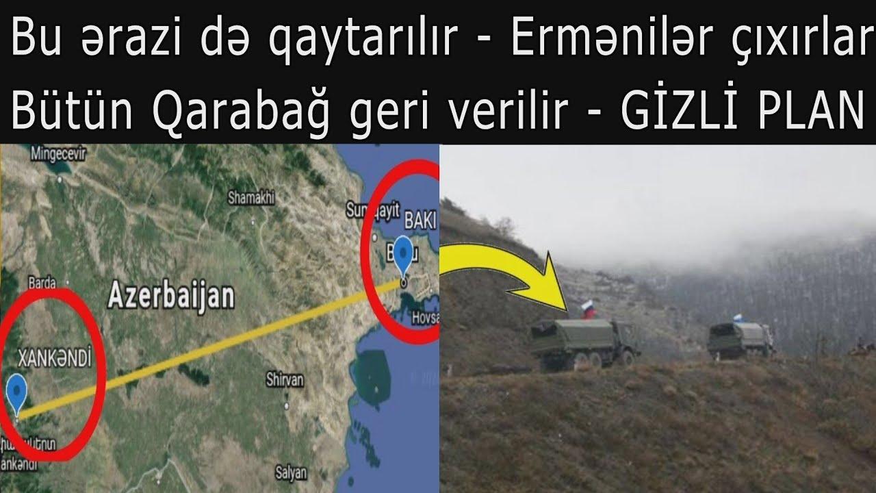 ŞOK PLAN Bütün Qarabağ geri verilir: Ermənilər buradan indicə çıxdı - VİDEO