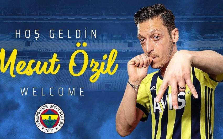"""Mesut Özil """"Fənərbağça""""da - Havayı başa gədl"""