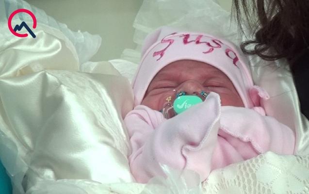 Şəhidin yeni doğulan övladına Şuşa adı verildi - FOTO