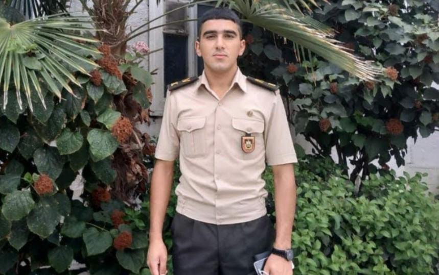 Bayraq sancarkən şəhid olan bölük komandiri - FOTOLAR