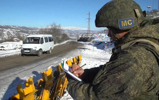 Rus sülhməramlılar Qarabağda antiterror təlimi keçir