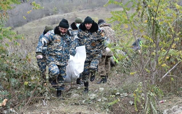 Qarabağda daha 3 erməni hərbçinin meyiti tapıldı
