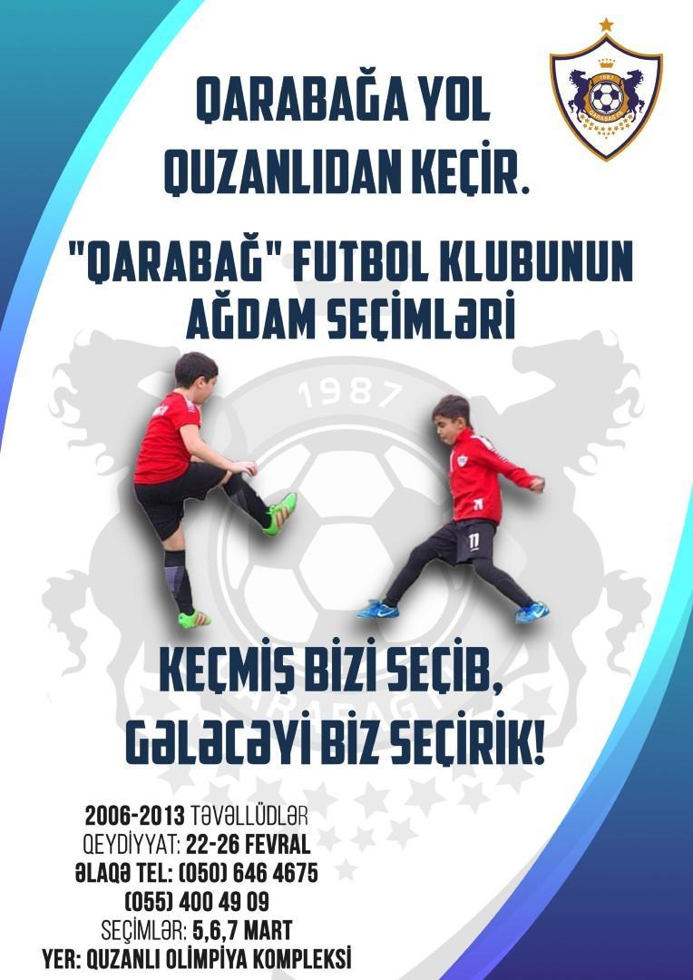 """""""Qarabağ"""" yenidən Ağdama qayıtdı, istedad axtarmağa başladı"""