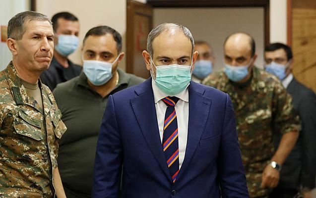 Ermənistan Baş Qərargahı Paşinyanın istefasını tələb edir