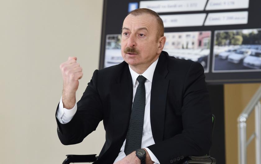 """""""Eşitmişəm ki, Ermənistan ordusunu yenə canlandırmaq istəyirlər"""""""