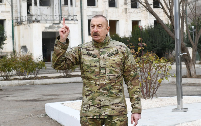 """""""Qarabağda heç bir digər dilin rəsmi statusu ola bilməz"""""""