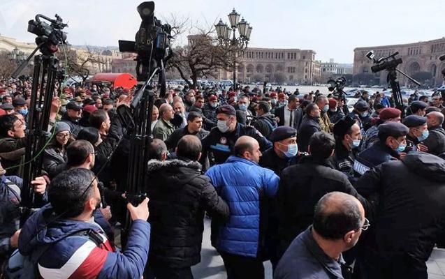 Ermənistanın Baş Qərargahı daha bir bəyanat yaydı