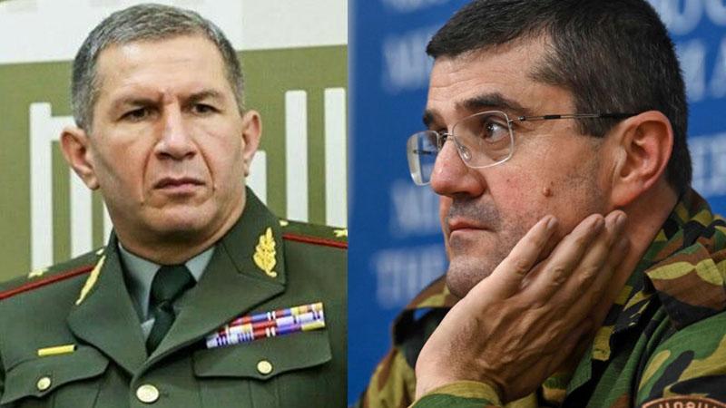 Qarabağ separatçılarının terrorçu lideri döyüldü!
