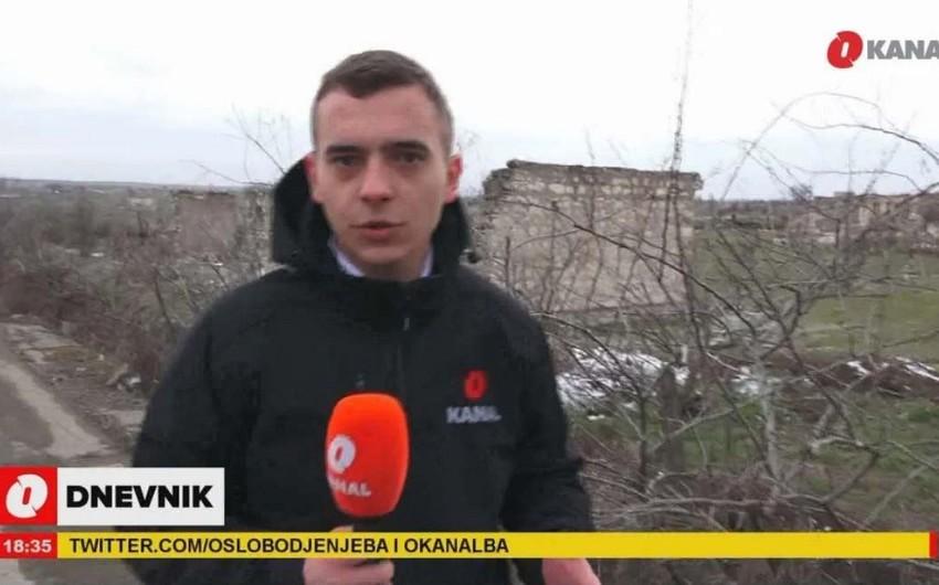 """""""O Kanal"""" Ağdamdan VİDEOREPORTAJ hazırladı"""