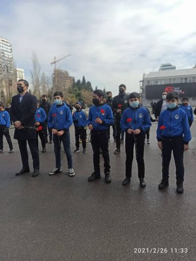 """""""Xocalı"""" Futbol Klubu """"Ana harayı""""nı ziyarət edib - FOTOLAR"""