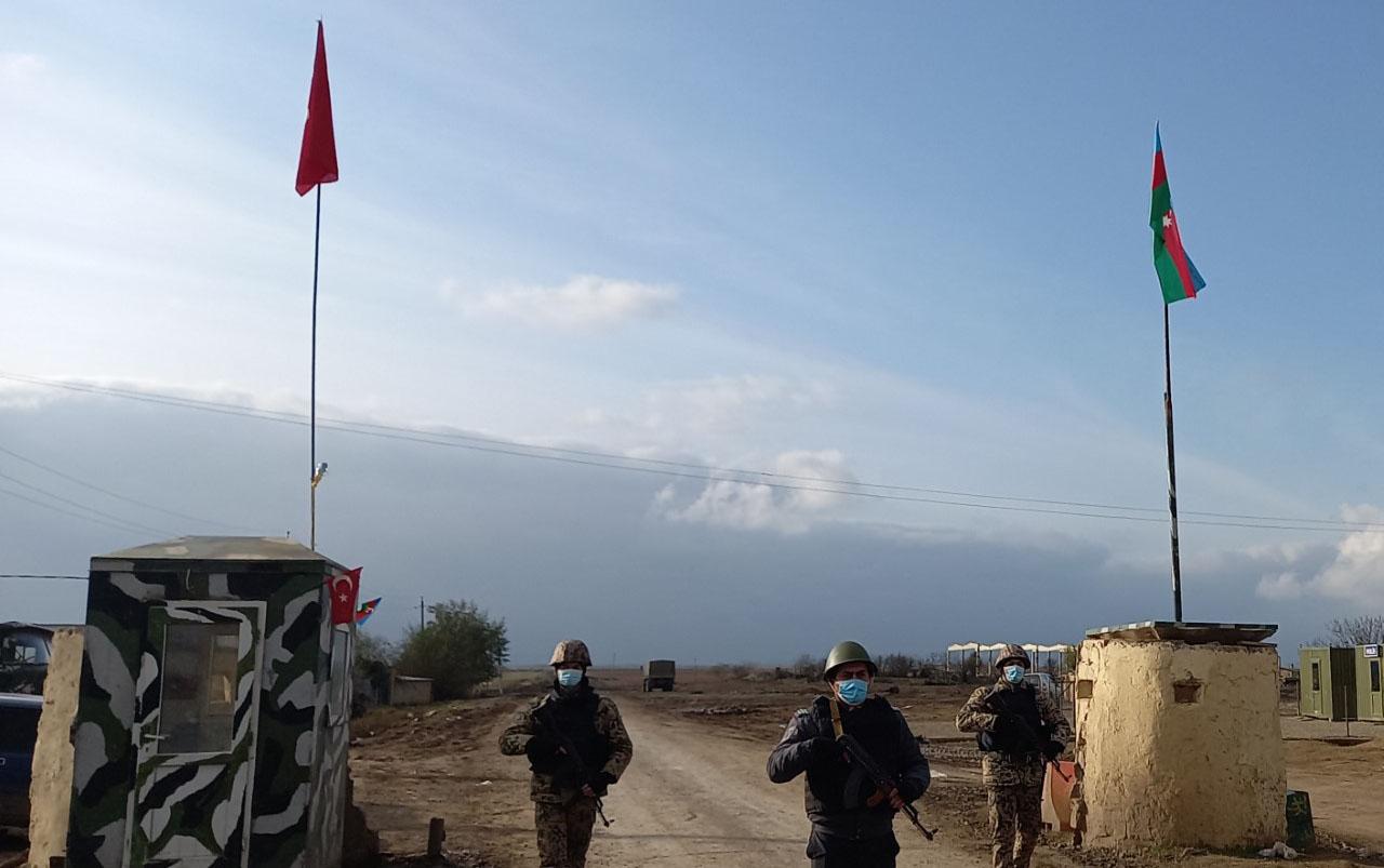 İşğaldan azad olunan kəndlərə gedən 9 nəfər saxlanıldı