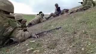 Qarabağda döyüşdən real VİDEO kadr