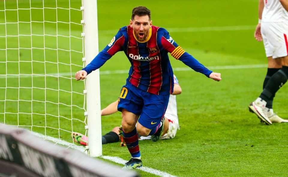 Messi La Liqada fevralın ən yaxşısı seçildi