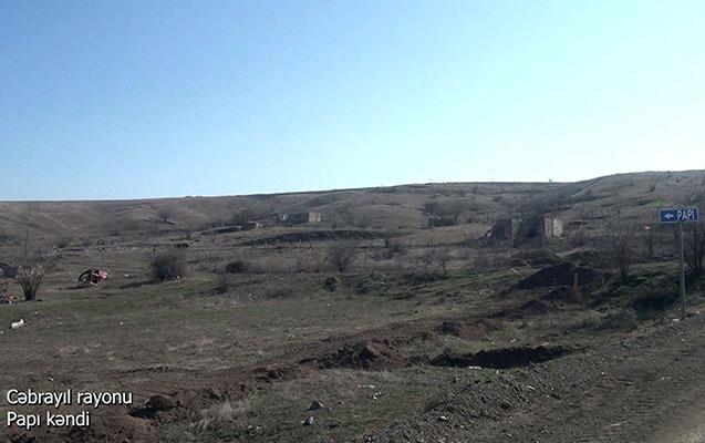 Bu da Cəbrayılın Papı kəndi - VİDEOREPORTAJ