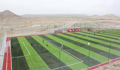 Naxçıvan klubu yeni bazada ilk məşqə çıxdı -