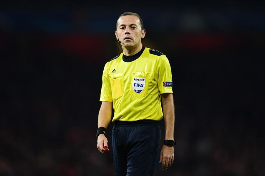 "UEFA ""Slaviya"" və  ""Arsenal""ı Cüneyt Çakıra tapşırdı"