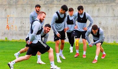 """""""Qarabağ""""ın düşərgəsindən yeni VİDEO+FOTOREPORTAJ"""