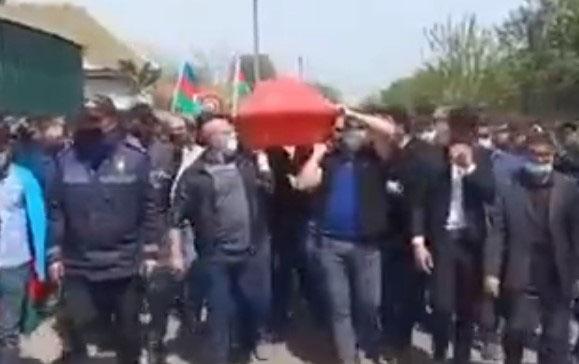 Şəhidimiz Masallıda dəfn edildi - VİDEO