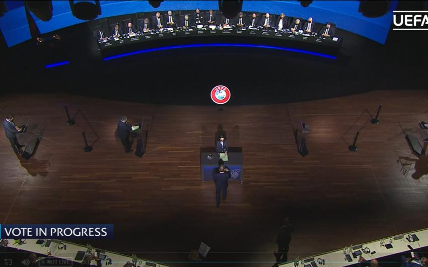 Elxan Məmmədov səs verdi, türk UEFA İK üzvü seçildi