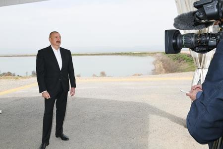 Prezident İlham Əliyevdən hadisə kimi müsahibə! - VİDEO+FOTOLAR