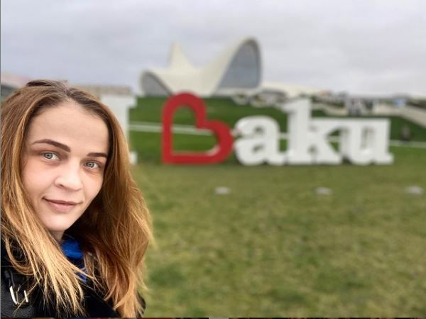 Mariya Stadnik Avropa çempionatının finalında