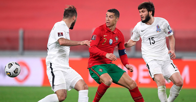 """""""Ronaldo Azərbaycanla oyunda çox əsəbi idi"""""""