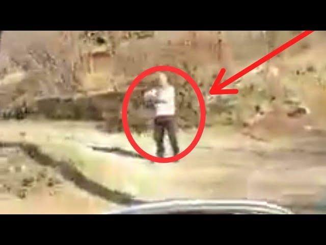 Ordumuzun maşın karvanın görən erməninin reaksiyası - VİDEO