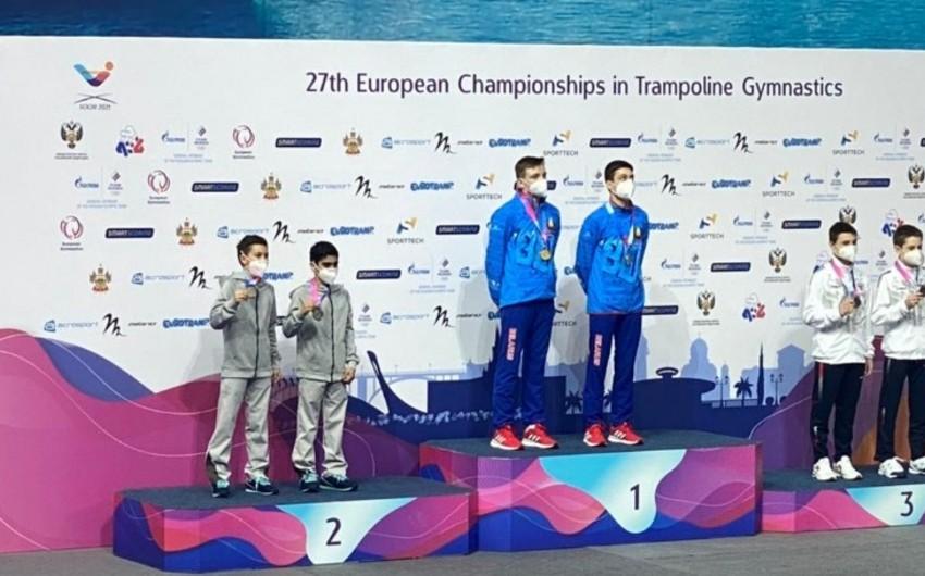 Azərbaycan gimnastları Avropa çempionatında 3 medal qazandı