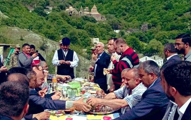 Azad Kəlbəcərdə bayram ab-havası... - FOTO