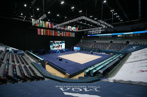 Milli Gimnastika Arenası Dünya Kubokunu qəbul etməyə tam hazırdır – FOTO
