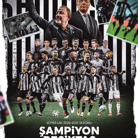 """Beşiktaş"" çempion! - VİDEO"