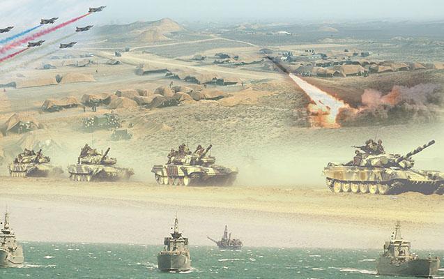 Azərbaycan Ordusunda geniş təlimlər başladı
